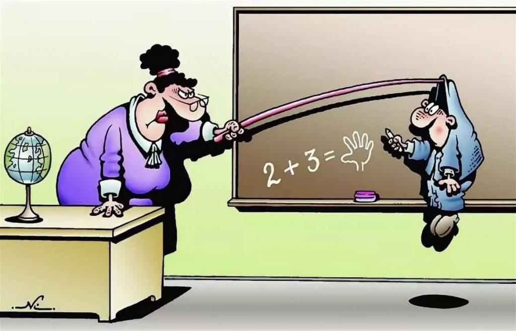 Вовочка и учительница